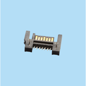 4211 / Conector macho SMT entrada  lateral 7 pines - SERIAL ATA