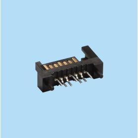 4210 / Conector macho DIP 180 grados 7 pines - SERIAL ATA