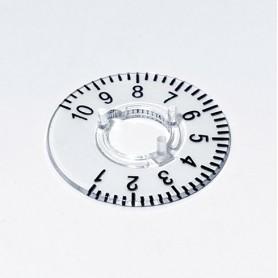 A4410060 / Dial 10 - PC (UL 94 HB) - transparente