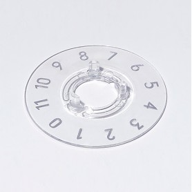 A4413049 / Dial 13.5 - PC (UL 94 HB) - transparente