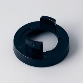 A5123000 / Tapa de tuerca 23 SIN línea - ABS (UL 94 HB) - black RAL 9005