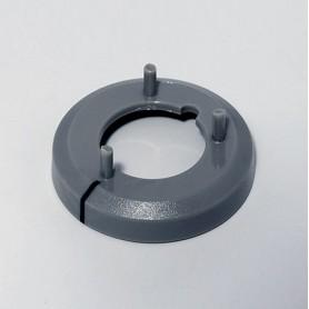 A7516018 / Tapa de tuerca 16 CON línea - ABS (UL 94 HB) - dusty grey RAL 7037