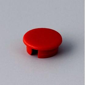 A4110002 / Tapa de botón 10 SIN línea - ABS (UL 94 HB) - red RAL F12/0-10