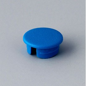 A4110006 / Tapa de botón 10 SIN línea - ABS (UL 94 HB) - light blue RAL 5012