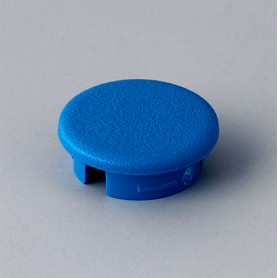 A4113006 / Tapa de botón 13.5 SIN línea - ABS (UL 94 HB) - light blue RAL 5012
