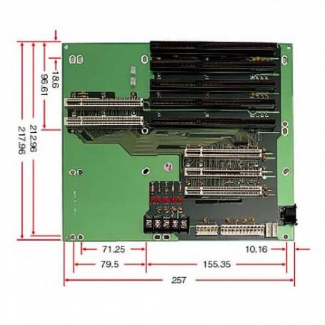 PBP-08P3 / Backplanes PICMG1.0 - 8-slot (3x PCI)
