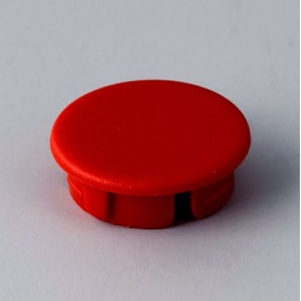 A4116002 / Tapa de botón 16 SIN línea - ABS (UL 94 HB) - red RAL F12/0-10