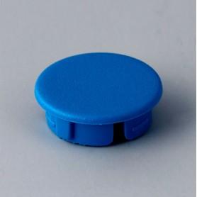 A4116006 / Tapa de botón 16 SIN línea - ABS (UL 94 HB) - light blue RAL 5012