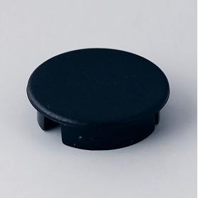 A4120000 / Tapa de botón 20 SIN línea - ABS (UL 94 HB) - black RAL 9005