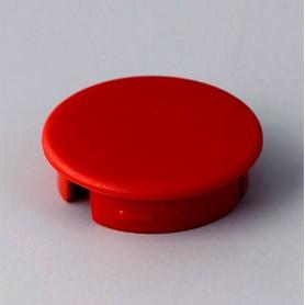 A4120002 / Tapa de botón 20 SIN línea - ABS (UL 94 HB) - red RAL F12/0-10