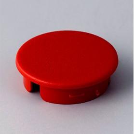 A4123002 / Tapa de botón 23 SIN línea - ABS (UL 94 HB) - red RAL F12/0-10
