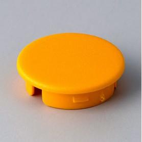 A4123004 / Tapa de botón 23 SIN línea - ABS (UL 94 HB) - yellow RAL F12/0-1