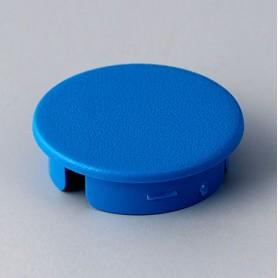 A4123006 / Tapa de botón 23 SIN línea - ABS (UL 94 HB) - light blue RAL 5012