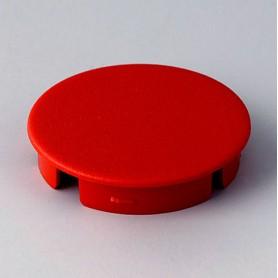 A4131002 / Tapa de botón 31 SIN línea - ABS (UL 94 HB) - red RAL F12/0-10