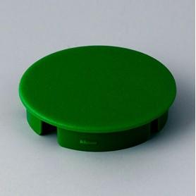 A4131005 / Tapa de botón 31 SIN línea - ABS (UL 94 HB) - green RAL F12/0-43
