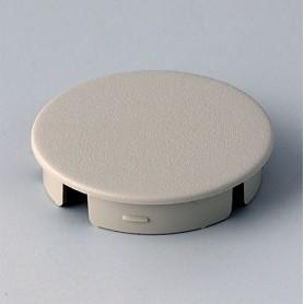 A4131007 / Tapa de botón 31 SIN línea - ABS (UL 94 HB) - pebble grey RAL 7032