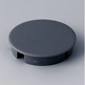 A4131008 / Tapa de botón 31 SIN línea - ABS (UL 94 HB) - dusty grey RAL 7037