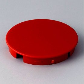 A4140002 / Tapa de botón 40 SIN línea - ABS (UL 94 HB) - red RAL F12/0-10