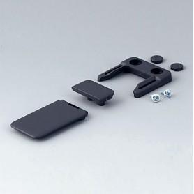 A9152048 / Combi-Clip - ABS (UL 94 HB) - lava - 45x27mm