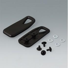 B4308309 / Soportes fijadores - Plástico - black RAL 9005