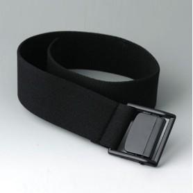 B7110129 / Correa de cinturón - black - 450x35mm