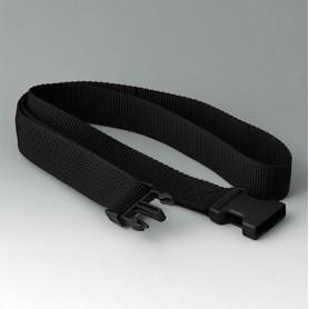 B7110139 / Correa de cinturón - black - 1200x30mm