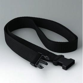 B7110149 / Correa de cinturón - black - 1500x30mm