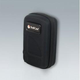 K0300B12 / Estuche de transporte 310 con juego de insertos de espuma - black - 226x142x92mm