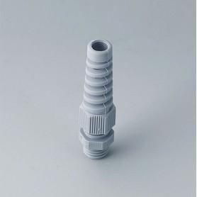 C2312518 / Prensaestopas M12x1.5 con protección contra flexiones - PA - silver grey RAL 7001 - IP 68