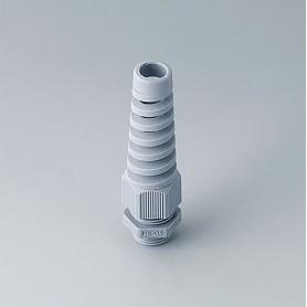 C2316518 / Prensaestopas M16x1.5 con protección contra flexiones - PA - silver grey RAL 7001 - IP 68
