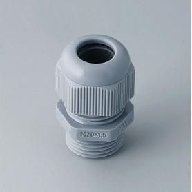 C2320418 / Prensaestopas M20x1.5 - PA - silver grey RAL 7001 - IP 68