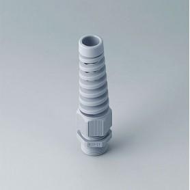 C2320518 / Prensaestopas M20x1.5 con protección contra flexiones - PA - silver grey RAL 7001 - IP 68