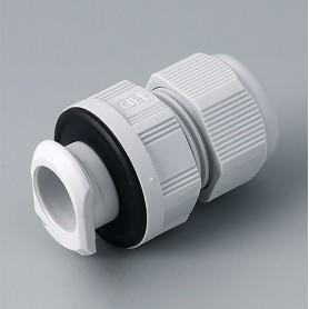 C2320717 / Prensaestopas de fijación rápida M20 - PA - light grey RAL 7035 - IP 68