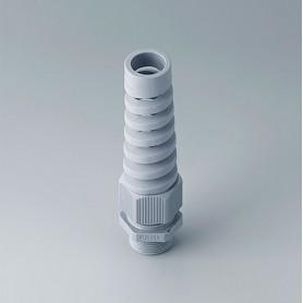 C2325518 / Prensaestopas M25x1.5 con protección contra flexiones - PA - silver grey RAL 7001 - IP 68