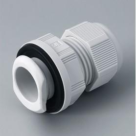 C2325717 / Prensaestopas de fijación rápida M25 - PA - light grey RAL 7035 - IP 68