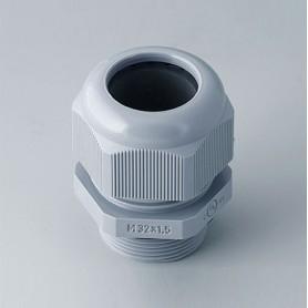 C2332418 / Prensaestopas M32x1.5 - PA - silver grey RAL 7001IP 68