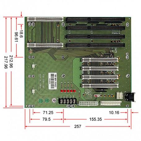 PBP-08P4 / Backplanes PICMG1.0