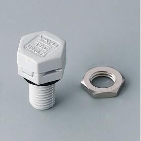 C2306917 / Elemento de compensación de presión M6 x 0.75 - PA 6 (UL 94 HB) - light grey RAL 7035 - IP 56