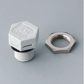 C2310917 / Elemento de compensación de presión M10 x 1 - PA 6 (UL 94 HB) - light grey RAL 7035 - IP 56