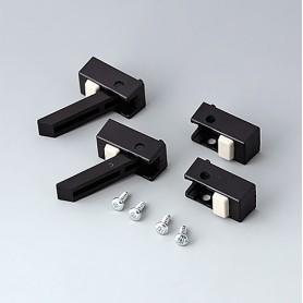 A9257209 / Funda protectora para pie: Vers. II - ABS (UL 94 HB) - black RAL 9005
