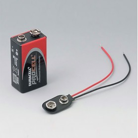 A9160003 / Contacto con enchufe: 1 x 9 V (PP3)