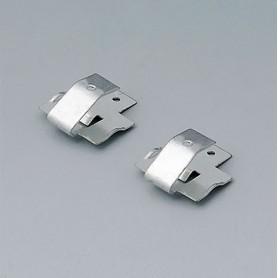 A9174006 / Set de clips de batería: 1 x 9 V - Acero - tin-plated