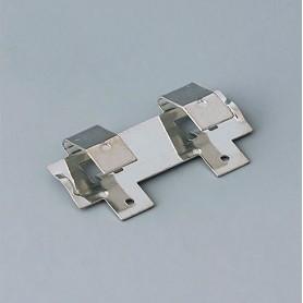 A9193003 / Clips de batería: doble contacto - Acero - tin-plated