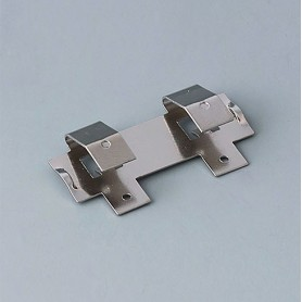 A9193005 / Clips de batería: doble contacto - Acero - nickel-plated