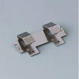 A9193005 / Clips de batería: doble contacto - Acero - nickel-plated