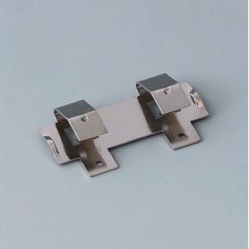 A9193008 / Clips de batería: doble contacto - CuBe - nickel-plated