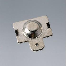 A9193011 / Clips de batería: contacto individual - Acero - nickel-plated