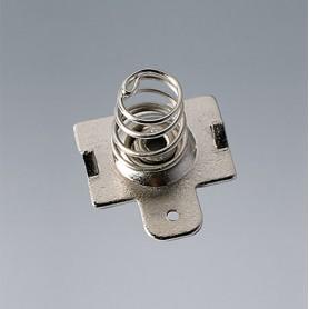 A9193012 / Clips de batería: contacto individual - Acero - nickel-plated