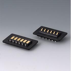 A9193044 / Kit de contacto: 6-pines - ABS (UL 94 HB) - black RAL 9005