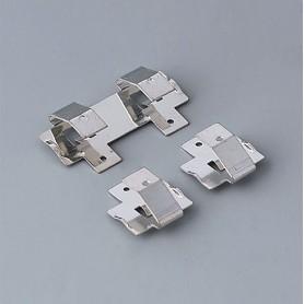 A9194001 / Set de Clips de batería: 2 x AA - Acero - tin-plated